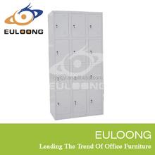 Popular portable multi-Door metal stainless steel locker/Euloong Steel Furniture