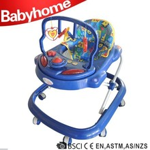 Hot sell car shape classic rolling baby walker