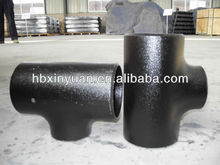 ASTM A234 /ASME / ANSI B 16.9 carbon steel reducing tees SCH 40 pipe fittings