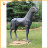 Garden Decor Casting Animal Sculpture Bronze Chinese Horse Sculpture Statue