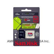 San Disk 64GB Ultra Class 10 Micro SDXC Memory Card SDSDQUA-064G-U46A