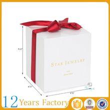 Personalizado melhor lembranças caixa de embalagem de papel de presente