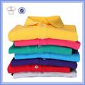 Prendas de vestir para hombre, 100% piqué de algodón pareja camisa de polo, venta al por mayor a granel t camisa de polo