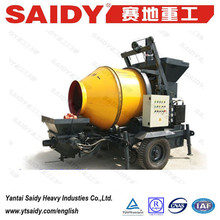 HBT30S concrete mixer with pumping function