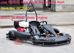 Real Product 168cc gas racing go kart with 4wheels