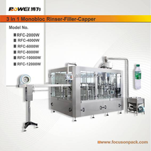 Automatic Pure Water Bottle washing Filling Capping Machine