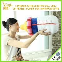 Funny design soft baby feeding bottle shape custom plush pillow children gifts stuffed plush pillow