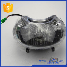 SCL-2012110029 One bulb Crystal Glass BAJAJ DISCOVER 135 Head Light