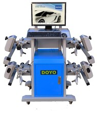 2015 hot sales high quality car wheel alignment and balancing machine
