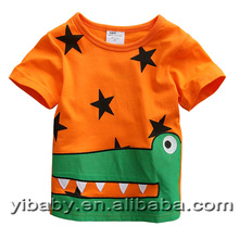 kids clothes 2015 new arrival children clothing printed cute cartoon child summer style short sleeve t shirts