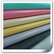 best selling wenzhou yanbuck stamping pu leather fabric for making shoes