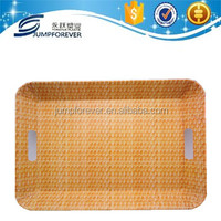 Large dry fruit tray/high quality plastic plate