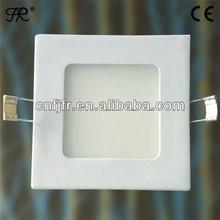 Acrylic & aluminum 20w 80/lm square led downlight