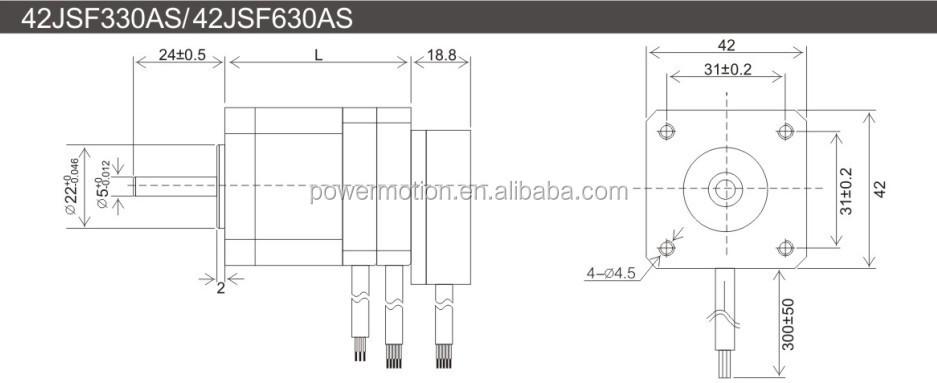 low cost 24v 32w dc brushless servo motor