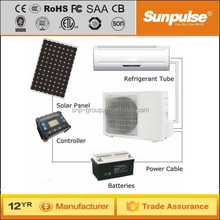 12000BTU 100% spilt type inverter solar air conditioner system for homes offices