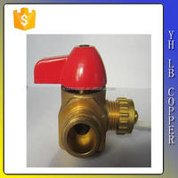 """(2C-JE301) Brass angle water valve with G1/2"""" thread"""
