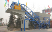HZS 50 Mobile Concrete Batching Station, Mobile Concrete Mixing Station