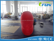 Wedding decoration beautiful inflatable red lip for decoration/giant inflatable lips/kiss beauty lip inflatable