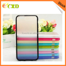 Mobile phoen tpu+pc case for iphone 6/pc case for iphone 6 with frosted surface