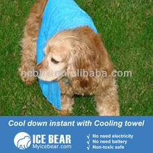 Dog pet Cooling towel with logo