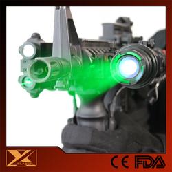Hunting all weather operating green laser designator sight