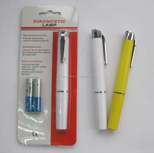plastic medical doctor pen torch light pen flashlight pen light for promotion