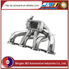 TIG welded cnc machined flange exhaust manifold for dongfeng