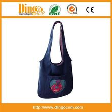 promotional jeans bag with logo/jeans bag/custom jeans bag with logo