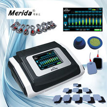 Touch screen adjustable electronic pulse massage