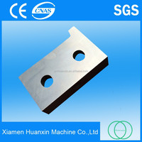 Hot rolled steel bar production line shear blades