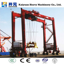 Widely used Container gantry MJ type crane made in china
