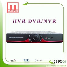 [Marvio HVR&DVR Series] abs plastic raw material free dvr surveillance software h.264 network video recorder with high quality