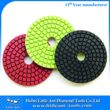 Diamond Resin Wet Flexible Stone Polishing Pads For Granite Restoration