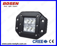 "2014 wholesale cheap price 3"" 18W led work light offroad led, 18w led Flush mount pods"