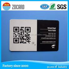 Big discount!!free sample! cmyk-4 color printed combi smart card