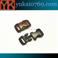 wholesale high quality quick release plastic buckle for bag,plastic buckle