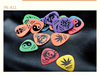 Dull polish custom guitar picks,cheap guitar picks,guitar accessories