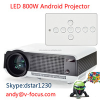 Home Theater 1280*800 native resolution 2800lumens Full HD Video USB HDMI TV 1080P LED 3D Projector