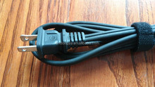 Rubber power cord