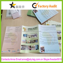 2015 Cheap made in china customize print sample catalogue