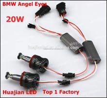 Multi color 20W Led Angel Eyes for E87,E82,E92,E93,E90,E91,E60,E61,E63,M3,M6