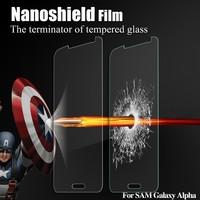 Soft Nanoshield explosion proof film for Samsung galaxy Alpha anti explosive screen protector