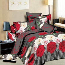 2015 new 3d print bedsheet with pillowcovers wholesale indian blankets