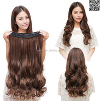 8a Grade deep wave clip in hair extensions