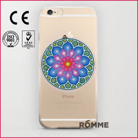 Phone case print manufacturer specialized custom protective hard clear phone cover print for iphone 6