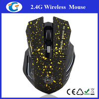 Hot selling high Performance 2.4g optical wireless gaming mouse