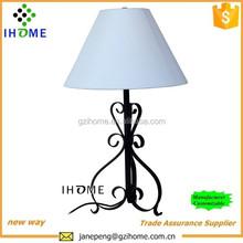 European pattern lamp black art table lamp