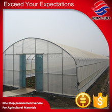 arch design plastic film greenhouse