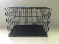iron dog cage with Certificate