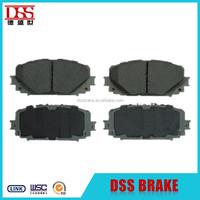 Japan car spare parts brake pad for toyota yaris